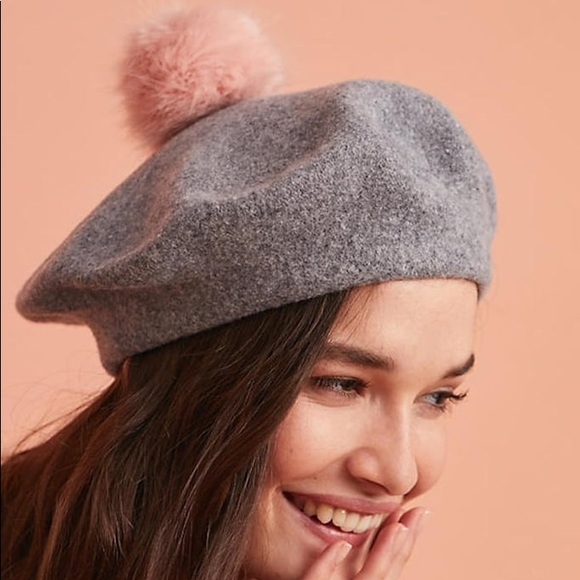 953351a627bb9 Helen Moore Frenchie Pom Beret
